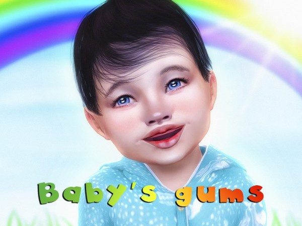 The Sims Resource: Babys gums by KatVerseCC