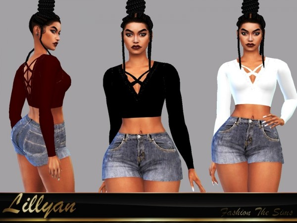 The Sims Resource: Top Raica by LYLLYAN