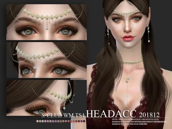The Sims Resource: Headacc F 201812 by S Club