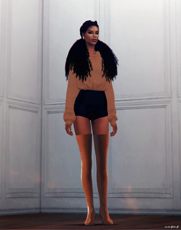 MMSIMS: Days Thigh high and Ankle Boots