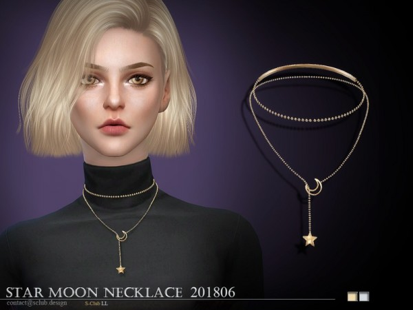 The Sims Resource: LL Necklace F 201806 by S Club
