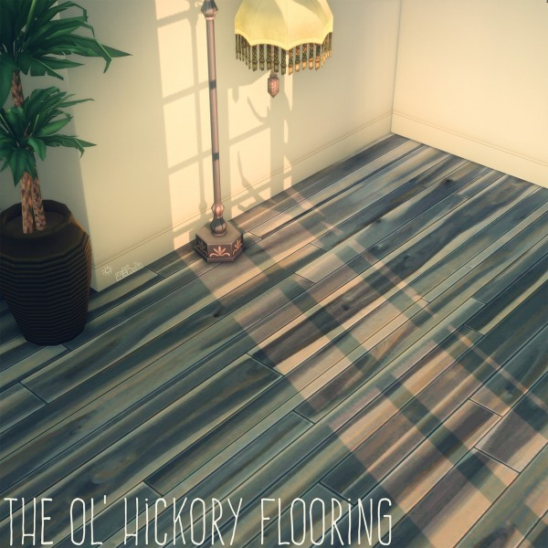 Picture Amoebae: The Ol`Hickory Flooring