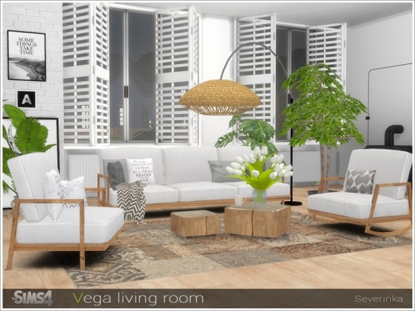 The Sims Resource: Vega livingroom by Severinka