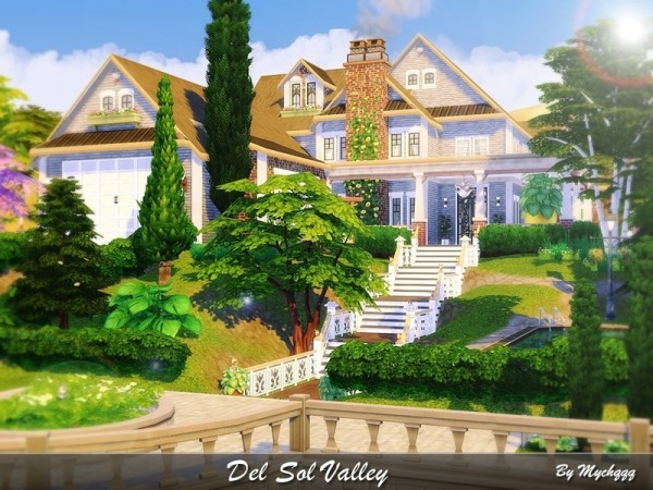 The Sims Resource Del Sol Valley House By Mychqqq Sims