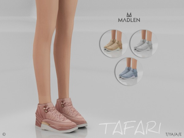 The Sims Resource: Madlen Tafari Shoes by MJ95