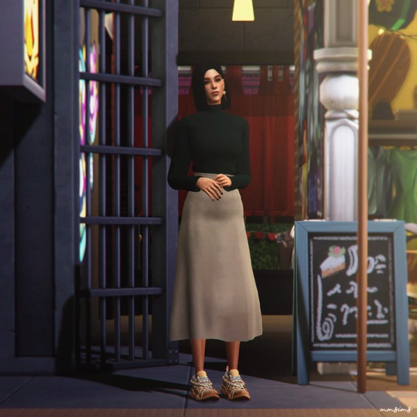 MMSIMS: Flashtrek Sneakers and Crystal strap Set