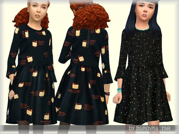 The Sims Resource: Childrens Dress by bukovka