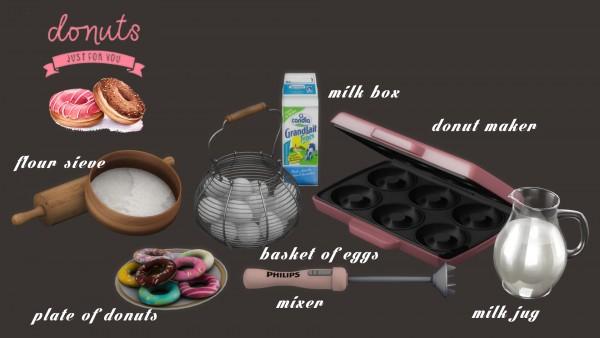 Leo 4 Sims: Lets Make Donut