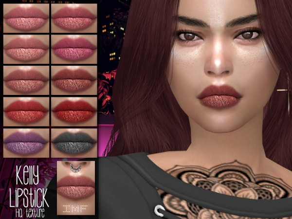 The Sims Resource: Kelly Lipstick N.130 by IzzieMcFire