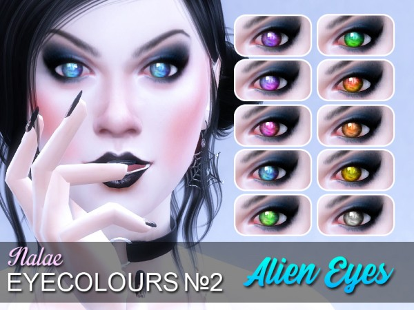 Mod The Sims: Alien eyes by Nalae