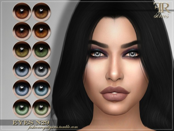 The Sims Resource: Eyes N29 by FashionRoyaltySims