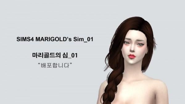 SIMS4 Marigold: Sim 01
