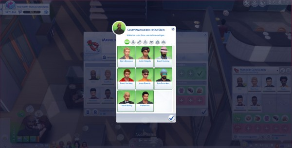 Mod The Sims: More Club Members and Gender Requirements by Havem