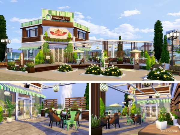 The Sims Resource: Eco Cafe by Lhonna
