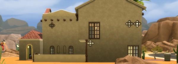 Mod The Sims: Pebble Burrow  house by Amondra