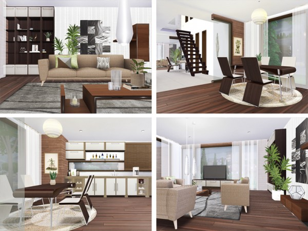 The Sims Resource: Malka House by Rirann