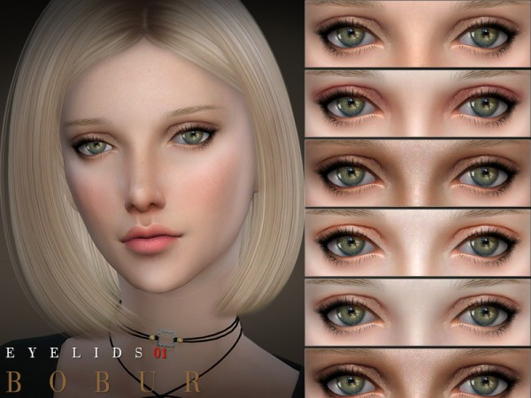 The Sims Resource: Eyelids 01 by Bobur3