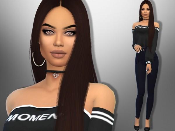 The Sims Resource: Natti Natasha by divaka45