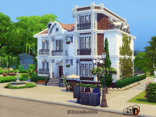 The Sims Resource: Elizabeth House by Danuta720