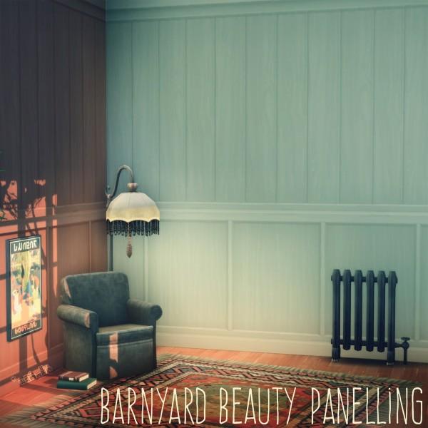 Picture Amoebae: Barnyard Beauty Panelling