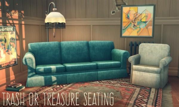Picture Amoebae: Trash or Treasure Seating