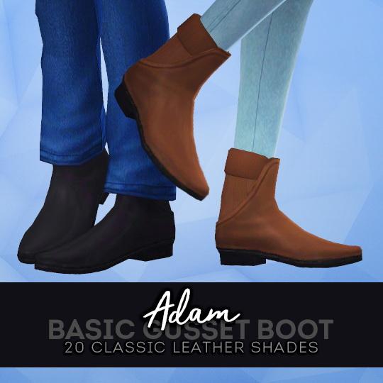Pleyita: Adam Gusset Boots
