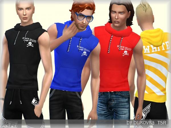 The Sims Resource: Hoody White by bukovka