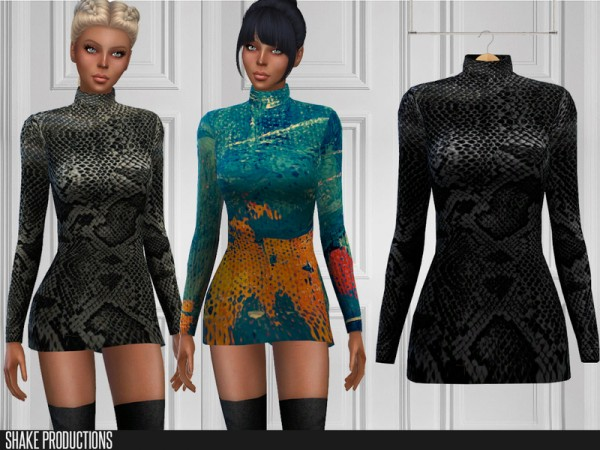 The Sims Resource: Dress 201 by ShakeProductions