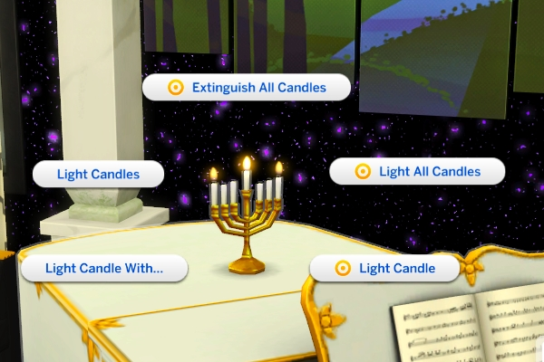 Mod The Sims: Menorah of the Jews by thril1