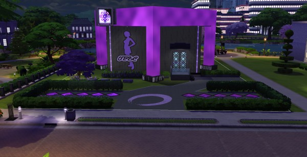 Luniversims: Club purple No CC by Samasita