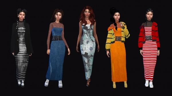 Dreaming 4 Sims: Long Tube Dress