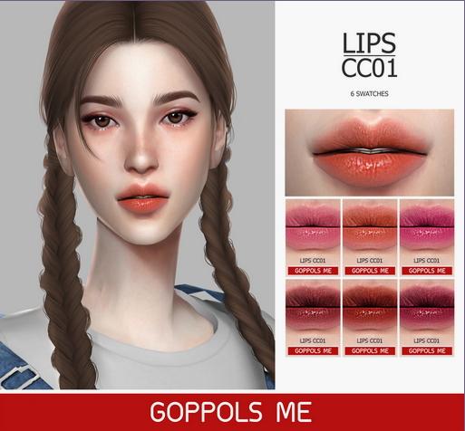 GOPPOLS Me: Lips CC01