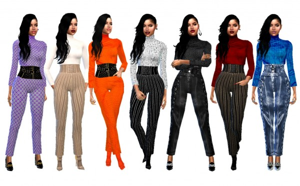 Dreaming 4 Sims: Belted Jumpsuit