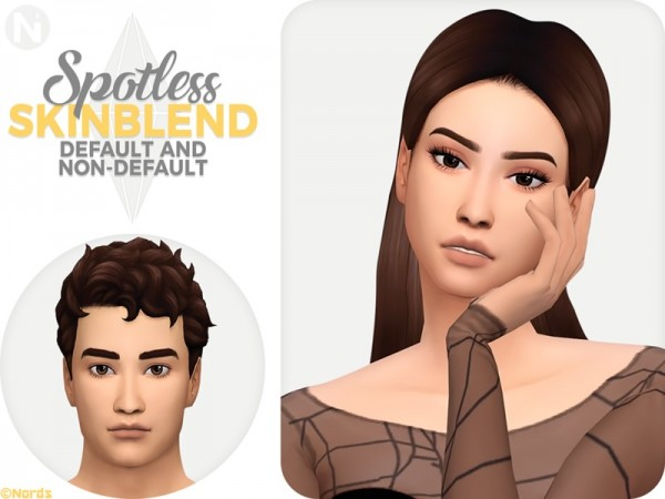 The Sims Resource: Spotless Skinblend by Nords