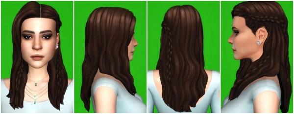 Players Wonderland: Braids Rings Hairstyle Retextured