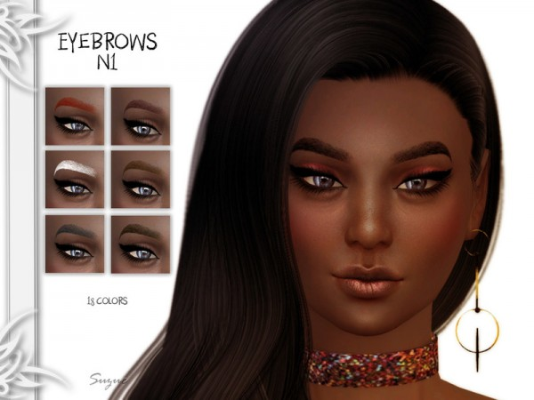 The Sims Resource: Eyebrows N1 by Suzue