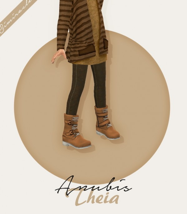 Simiracle: Anubis Theia Boots