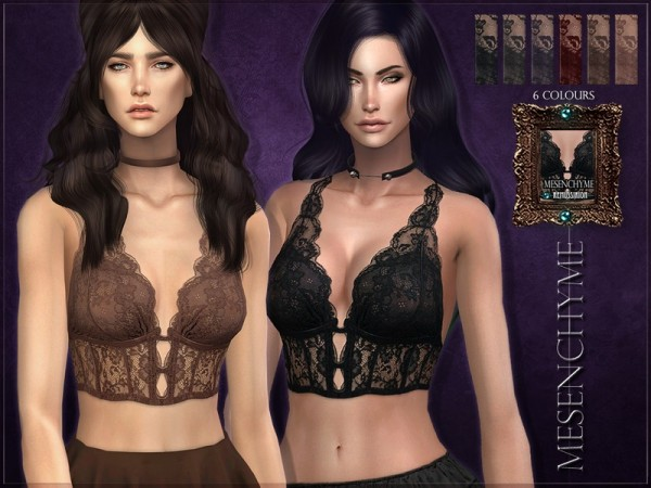 The Sims Resource: Mesenchyme Top by RemusSirion