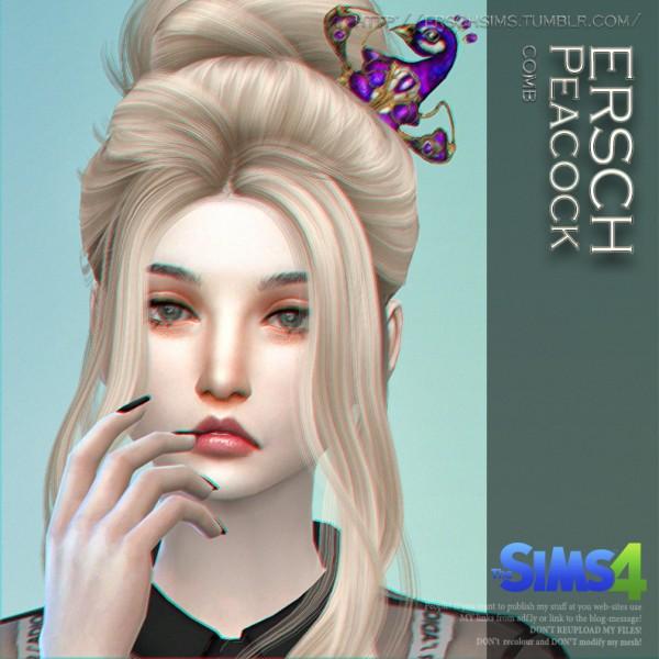 ErSch Sims: Peacock Comb