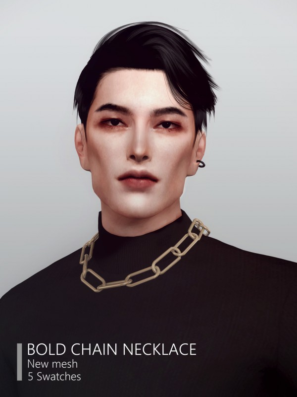 Rona Sims: Bold chain necklace