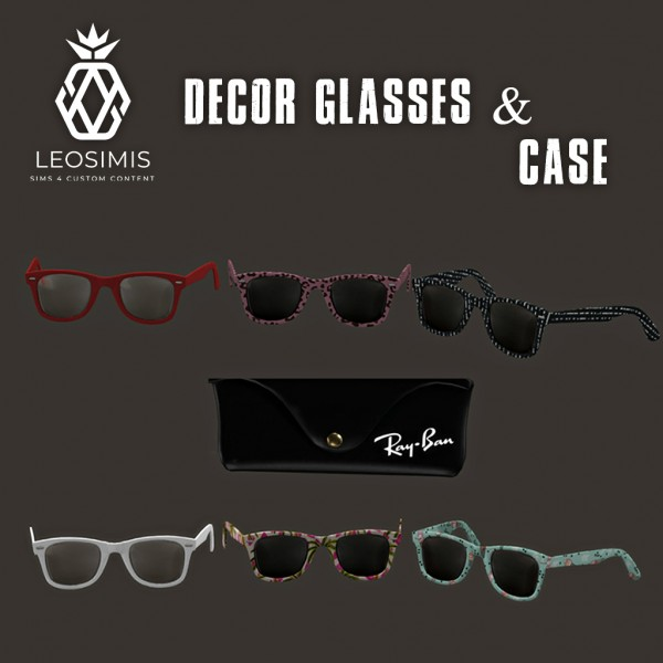 Leo 4 Sims: Decor Glasses