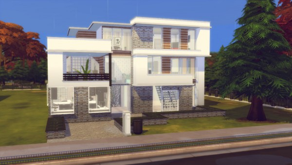 Simming With Mary: The Pine House