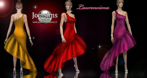 Jom Sims Creations: Laurenciena Dress