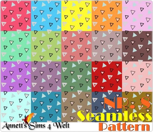 Annett`s Sims 4 Welt: Seamless Pattern   Nr. 8