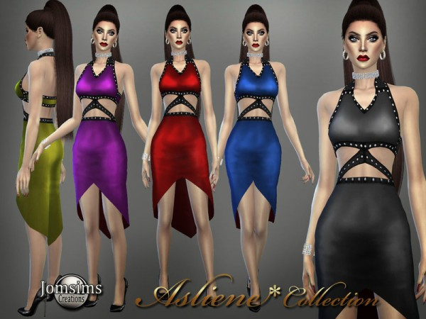 The Sims Resource: Asliene dress 4 by jomsims