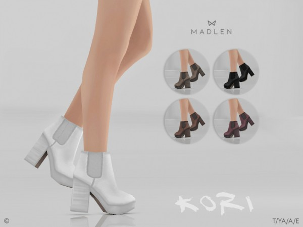 The Sims Resource: Madlen Kori Boots by MJ95