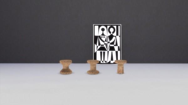 Meinkatz Creations: Cork family by Vitra