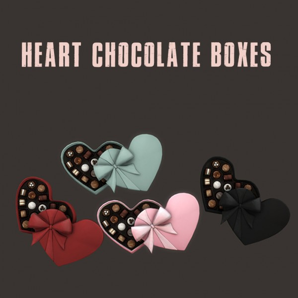 Leo 4 Sims: Heart Chocolate Boxes