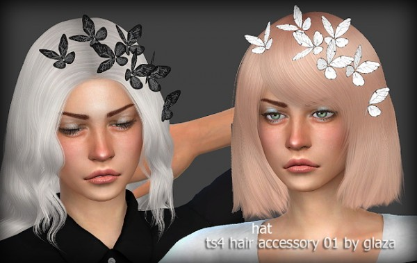 All by Glaza: Hair accessory 01