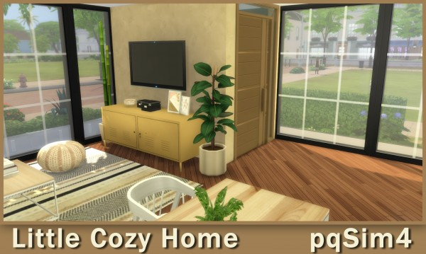 PQSims4: Little Cozy Home